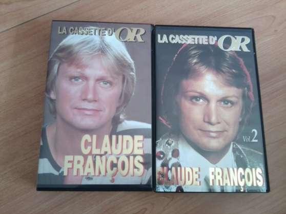 Cassette d'or de Claude François volume