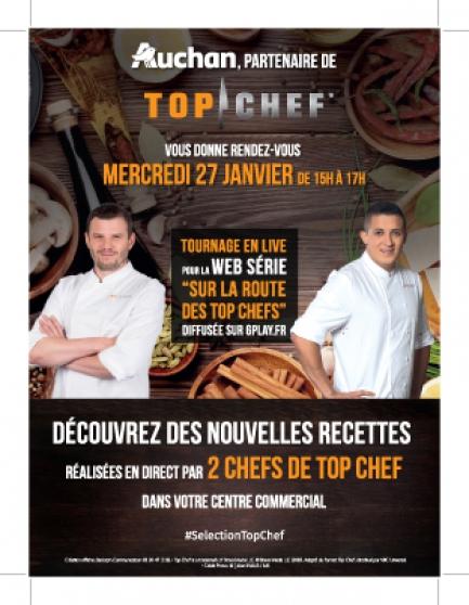 Annonce occasion, vente ou achat 'Sur la route des TOP CHEFS à Roncq le 27'