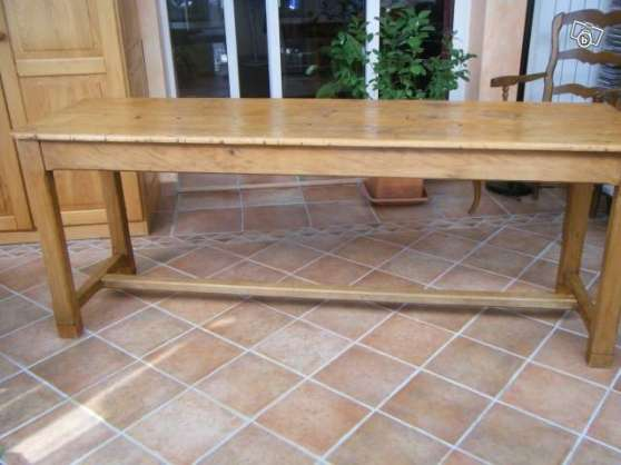 table drapier en sapin antiquit art brocantes meubles anciens le pontet reference ant. Black Bedroom Furniture Sets. Home Design Ideas