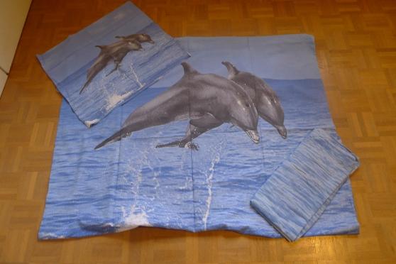 Annonce occasion, vente ou achat 'Housse de couette dauphin'