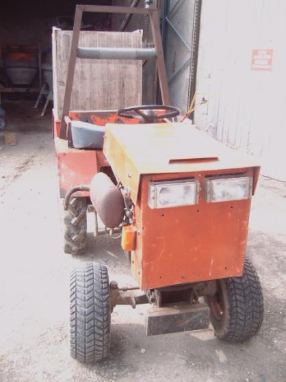 micro tracteur hakotrac 2000 faire prix - Photo 3