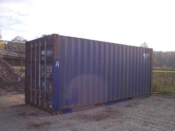container maritime pour stockage mat riaux de construction baraques de chantier cond sur l. Black Bedroom Furniture Sets. Home Design Ideas