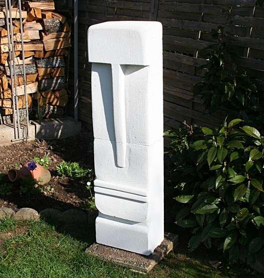 Sculpture/beton cellulaire-/ 1,24m