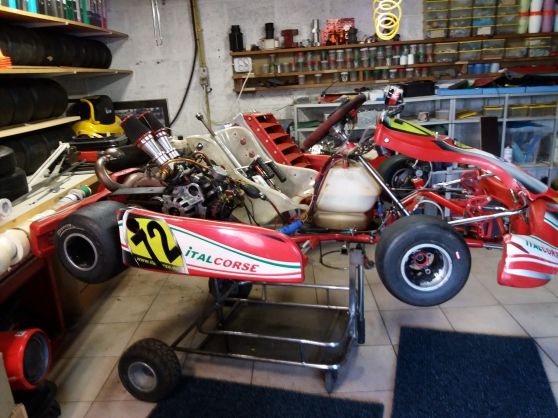 Annonce occasion, vente ou achat 'KARTING COMPLET ITALCORSE et SAETTA 250'