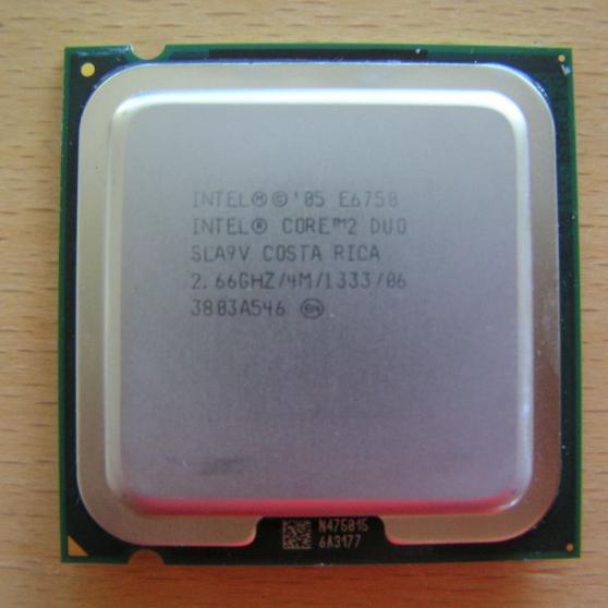 processeur e6750- cpu intel core 2 duo - Annonce gratuite marche.fr