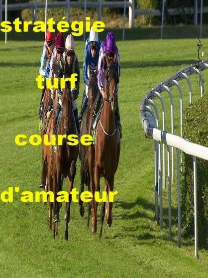 Annonce occasion, vente ou achat 'La stratégie turf course d\'amateur'