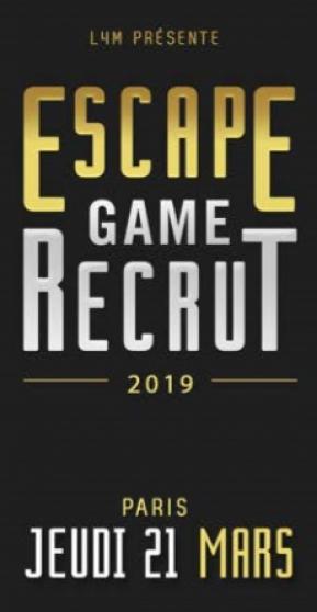 Petite Annonce : Escape game recrut - Groupama Paris Val de Loire recrute de nouveaux collaborateurs… Dans