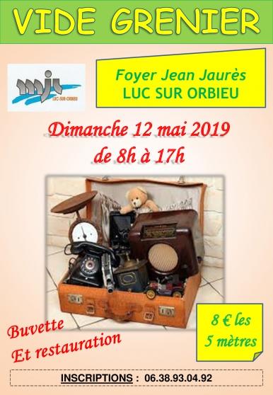 Annonce occasion, vente ou achat 'Vide Grenier a Luc Sur Orbieu'