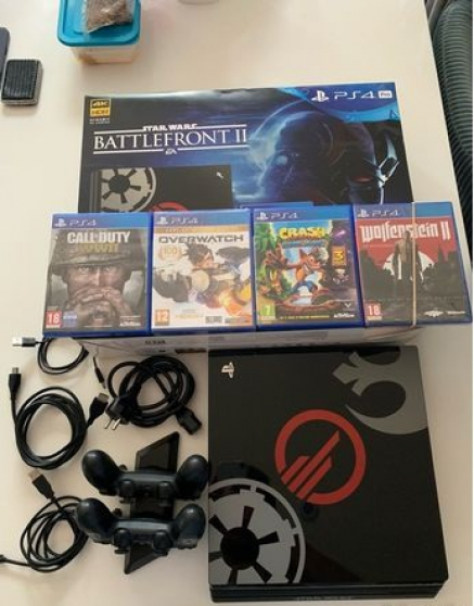 Annonce occasion, vente ou achat 'Ps4 pro1To édition Star wars'