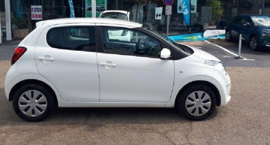 Citroën C1 VTi 68 Feel 5p berline, blanc