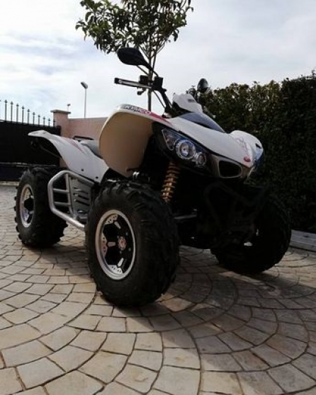 quad kymco maxxer 450 irs