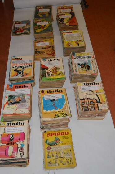 Lot de 583 magazines '' Le journal de TI