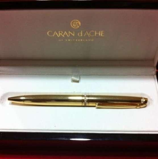 Annonce occasion, vente ou achat 'CARAN D\'ACHE 29 diamants et bijoux en or'