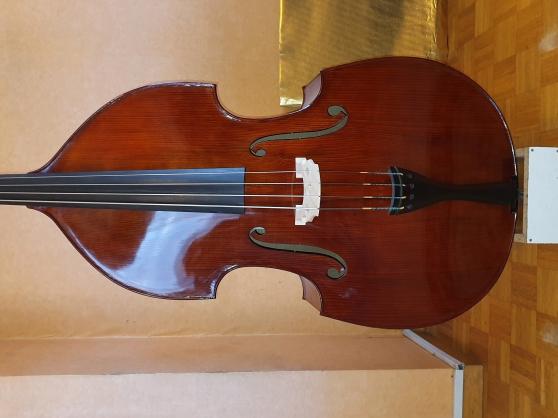 Contrebasse 3/4 Luthier Européen !