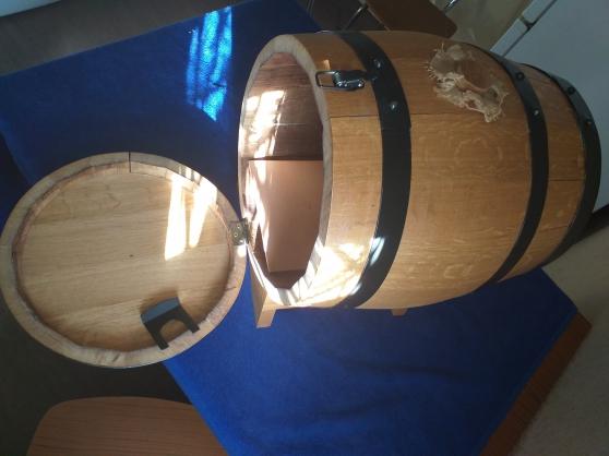 2 tonneaux en bois pour cubi - Photo 3