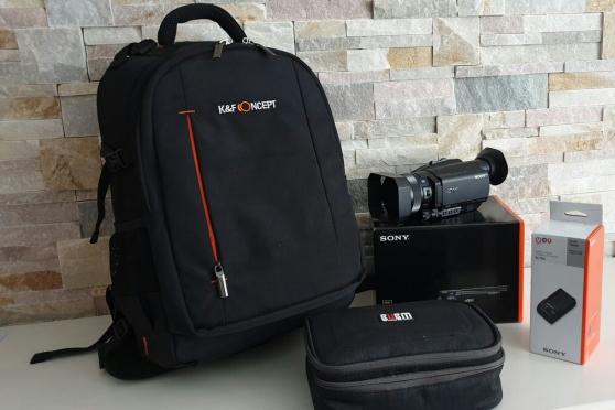 Annonce occasion, vente ou achat 'Caméscope Sony FDR-AX700 4K HDR et acces'
