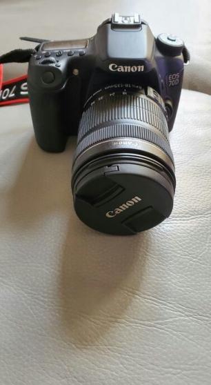 Canon EOS 70D avec objectif 18-135 - Photo 2