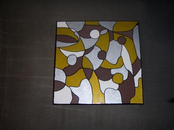 Peinture abstraite sur toile 2