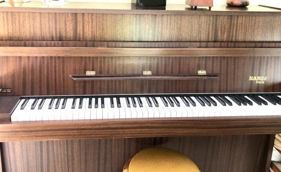 Annonce occasion, vente ou achat 'PIANO DROIT RAMEAU'