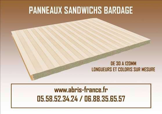 panneaux sandwich bardage agen mat riaux de construction mat riaux de construction divers. Black Bedroom Furniture Sets. Home Design Ideas