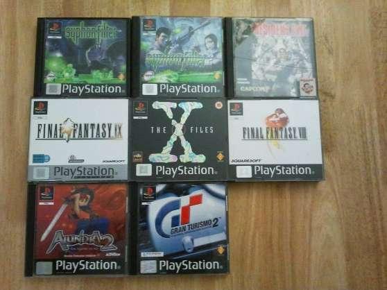 Jeux vidéos PSone et PS2