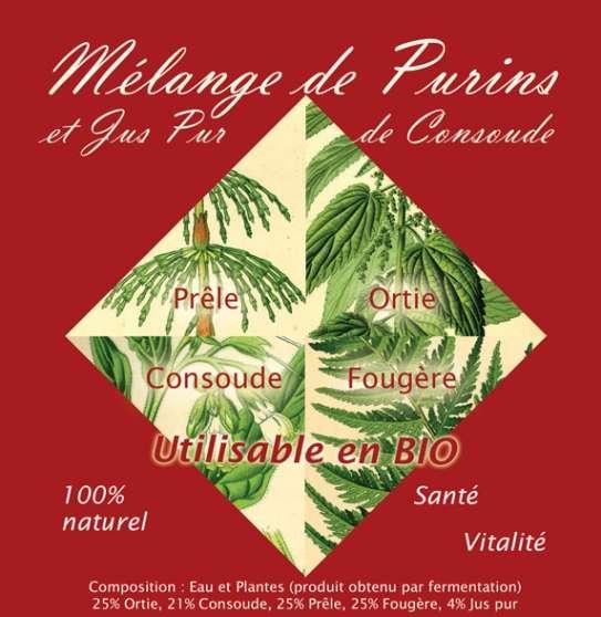 Mélange de purins - Produit complet
