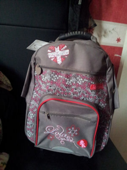 sac roulette fille college neuf