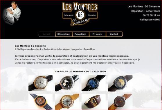 Réparation montre pendule horloge