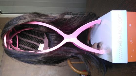 Perruque cheveux long