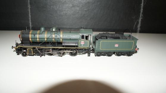 Locomotive à vapeur ST MARIENS