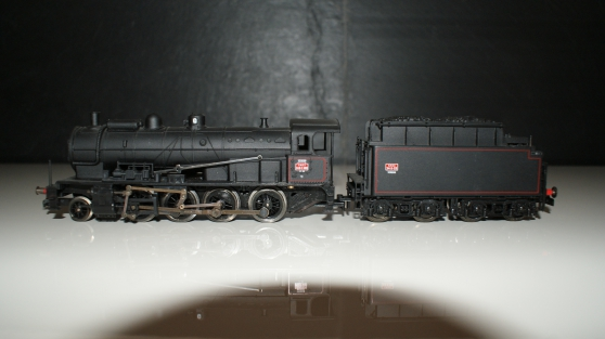 locomotive à vapeur VERDUN