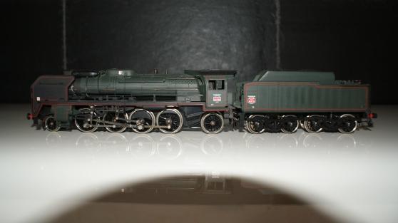Locomotive à vapeur 141 P 102