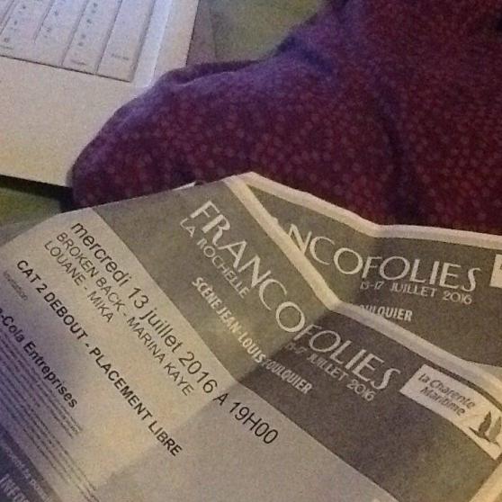 2billets festival francofolies 13juillet - Annonce gratuite marche.fr