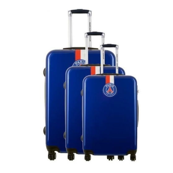 Lot de 3 valise PSG