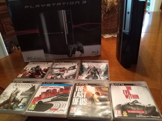 Annonce occasion, vente ou achat 'Console PS3 + 7 Jeux'