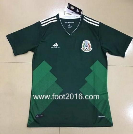 maillot domicile de Mexique 2017