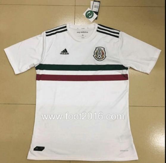 maillot extérieur de Mexique 2017