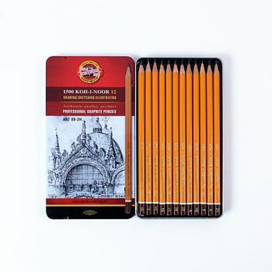 Annonce occasion, vente ou achat 'boîte métal crayons graphites'