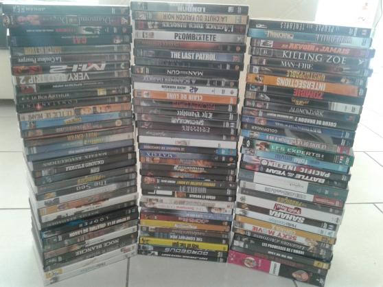 lot de 100 dvd , tout genres - Annonce gratuite marche.fr