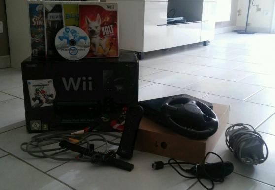 console wii + 5 jeux - Annonce gratuite marche.fr