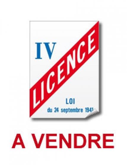 Annonce occasion, vente ou achat 'Vente Licence IV'