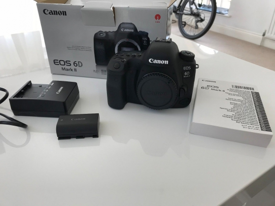 Annonce occasion, vente ou achat 'Canon 6d mark ii'
