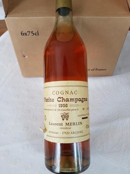 Cognac Petite Champagne 1956