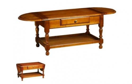 Annonce occasion, vente ou achat 'petite table basse merisier neuve'