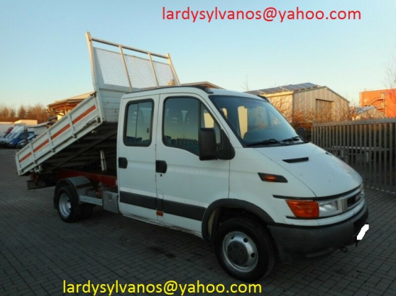 Camion benne Iveco Daily 50C13 double ca