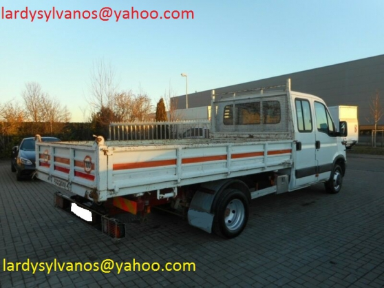 Camion benne Iveco Daily 50C13 double ca - Photo 2