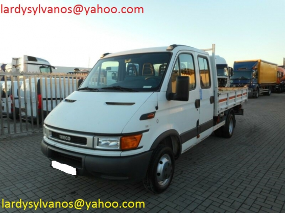 Camion benne Iveco Daily 50C13 double ca - Photo 3