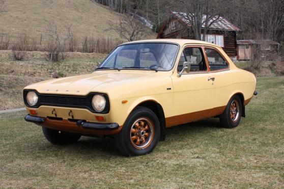 Annonce occasion, vente ou achat 'Ford Escort MK1 Sunshine 1974'