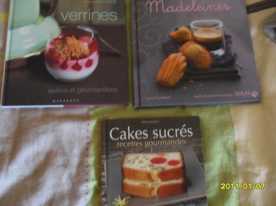 3 livres de recette