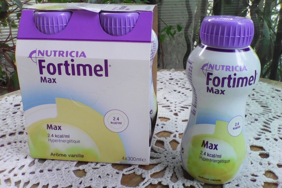 Annonce occasion, vente ou achat 'Fortimel max arome vanille'